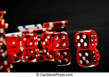 Dark theme of gambling games - Gambling games