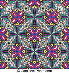 Indian fabric design