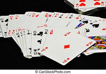 Dark concept of gambling games - Gambling games