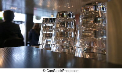 cafe in Zurich - atmospheric situation in a cafe in Zurich,...