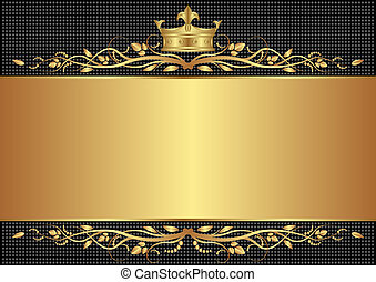 royal background - royal black background with golden crown