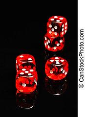 Casino theme with dark background - Gambling games