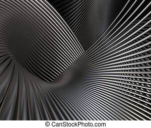 Futuristic brushed metal fantasy background. Abstract...