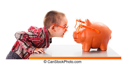 Playing with Piggy Bank