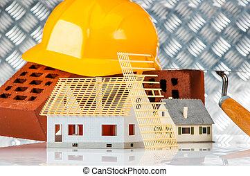 Building, construction site - Construction site