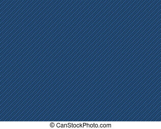 Blue Carbon fiber background