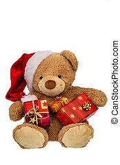 teddy, oso, navidad, regalos
