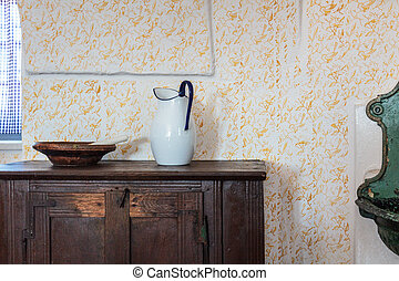 A room from the last century - A public room from the last...