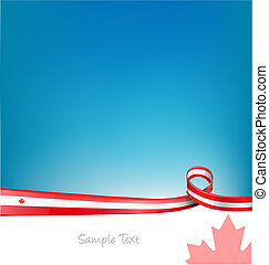 canada background with flag