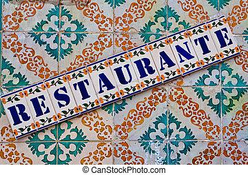 Lisbon restaurante