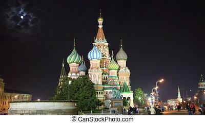 St Basil Church Vasiliy Blazhenniy in Moscow Russia -...