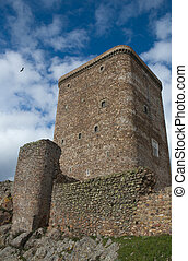 Tower and stork - The stronghold of Feria is one of the most...