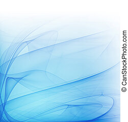 blue lines - abstract background with smooth blue lines
