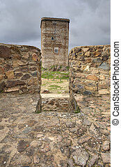 Square simetry - The stronghold of Feria is one of the most...