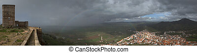 Gazing the rainbow - The stronghold of Feria is one of the...