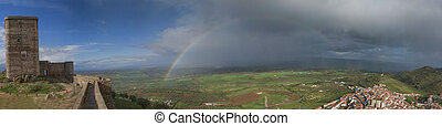 Somewhere under the rainbow - The stronghold of Feria is one...