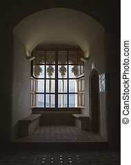 Gothic window - The stronghold of Feria is one of the most...