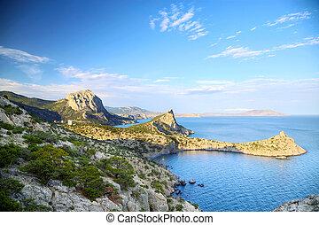 Crimea - Novyj Svit reserve in Black Sea, Crimea, Ukraine