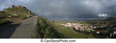 Road to castle - The stronghold of Feria is one of the most...