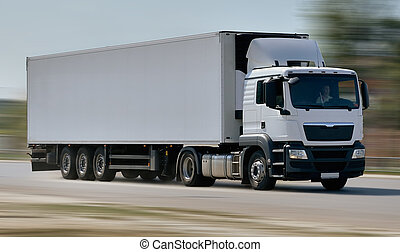 Cargo Truck - Cargo Delivery Truck