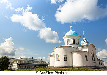 Intercession nunnery of Tervenichi, Russia (orthodox)
