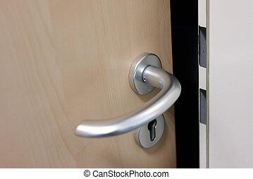Modern Door Knob of a door