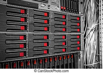 Mainframe of a server - Mainframe of a data server