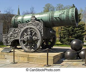 tsar-gun in Moscow Kremlin