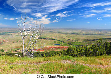 Wyoming Countryside Scenery - Spectacular Wyoming...