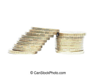 Spalte, geldmünzen