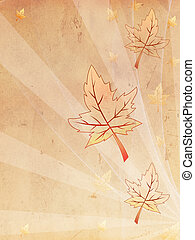 retro beige old paper autumn background - retro beige old...