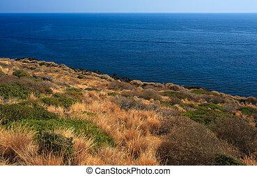 Pantelleria, Sicily - View of coast in Pantelleria in Sicily
