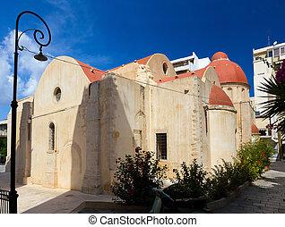 Basilica of Agia Ekaterini - Saint Katherine basilica,...