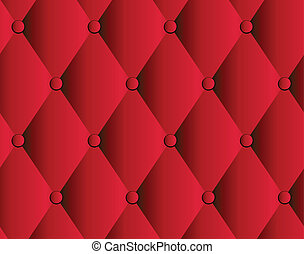 vector red leather upholstery background