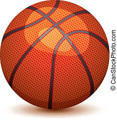 vector  basket ball  - vector illustration of basket ball