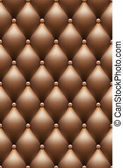 vector brown leather upholstery background
