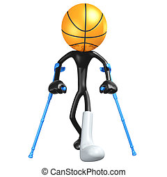 Injured Basketball Player - 3D Concept And Presentation...