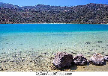 Lago di Venere, Pantelleria - View of Lago di Venere in...