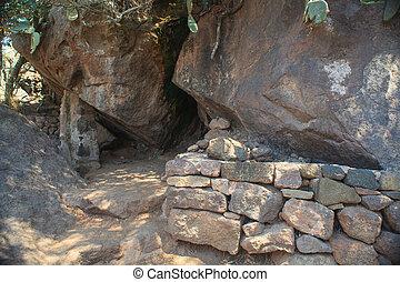 asciutto, Cueva,  bagno,  pantelleria
