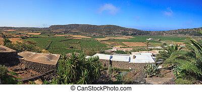Monastero valley, Pantelleria - View of Monastero valley in...