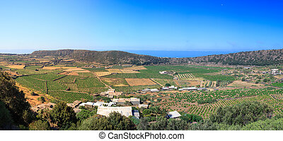 Monastero valley, Pantelleria - View of Monastero valley in...