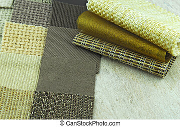 upholstery and tapestry color selection for interior