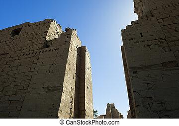 Karnak temple in Luxor,Egypt