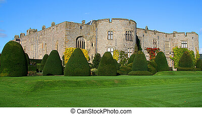 Castle - Chirk Castle is one of many tourist attraction in...