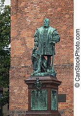 sculptur Joachim II Hector, Spandau - Joachim II Hector,...