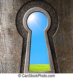 Keyhole concept