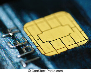 microchip on credit card