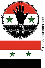 violation of human rights in Syria