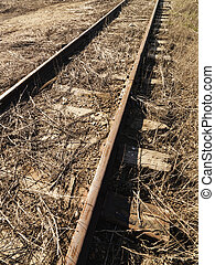 Railway - Abandoned railroad tracks