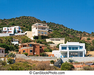 hillside villas - luxury hillside villas in near Algeciras,...